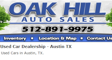 Car Dealership On Perrin Beitel