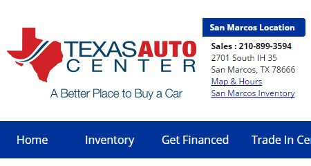 Car Dealerships In Killeen Tx >> Find The Local Automotive Dealerships in San Marcos - Used Cars For Sale